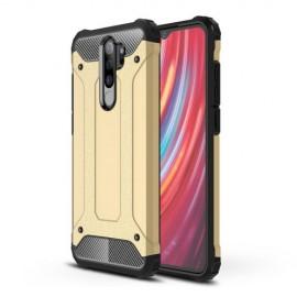 Armor Hybrid Xiaomi Redmi Note 8 Pro Hoesje - Goud