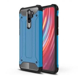 Armor Hybrid Xiaomi Redmi Note 8 Pro Hoesje - Lichtblauw