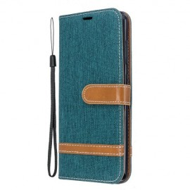 Denim Book Case Nokia 6.2 / 7.2 Hoesje - Groen