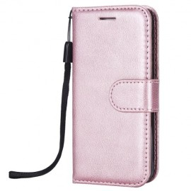 Book Case iPhone 5 / 5S / SE Hoesje - Rose Gold
