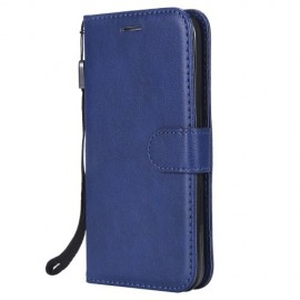 Book Case iPhone 5 / 5S / SE Hoesje - Blauw