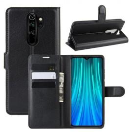 Book Case Xiaomi Redmi Note 8 Pro Hoesje - Zwart