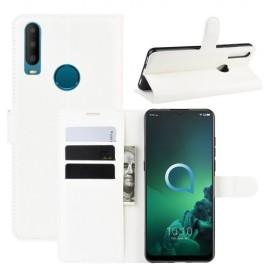 Book Case Alcatel 3X (2019) Hoesje - Wit