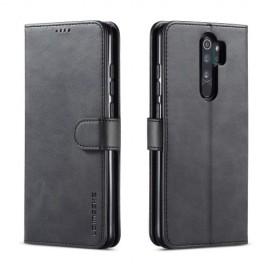 Luxe Book Case Xiaomi Redmi Note 8 Pro Hoesje - Zwart