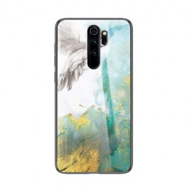 Marble Glass Cover Xiaomi Redmi Note 8 Pro Hoesje