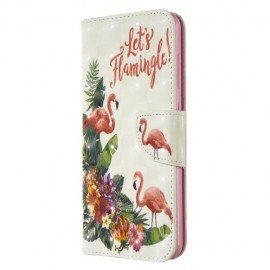 Book Case Nokia 6.2 / 7.2 Hoesje - Flamingo