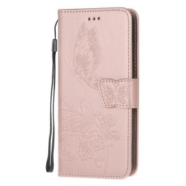 Vlinder Book Case Xiaomi Redmi Note 8 Pro Hoesje - Rose Gold