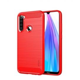 Armor Brushed TPU Xiaomi Redmi Note 8T Hoesje - Rood