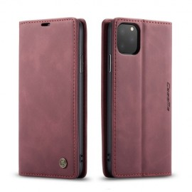 CaseMe Book Case iPhone 11 Pro Max Hoesje - Bordeaux