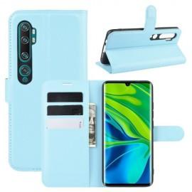 Book Case Xiaomi Mi Note 10 Hoesje - Lichtblauw