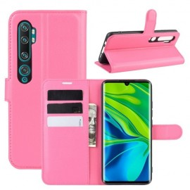 Book Case Xiaomi Mi Note 10 Hoesje - Roze