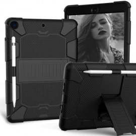 Heavy Duty Case iPad 10.2 (2019) Hoesje - Zwart