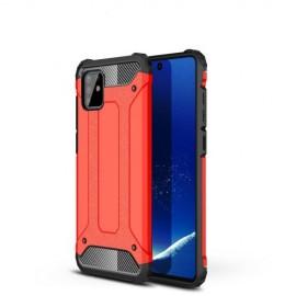 Armor Hybrid Samsung Galaxy Note 10 Lite Hoesje - Rood