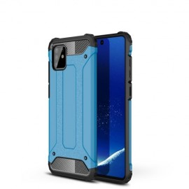 Armor Hybrid Samsung Galaxy Note 10 Lite Hoesje - Lichtblauw