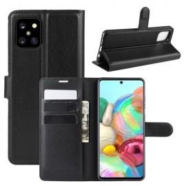 Book Case Samsung Galaxy Note 10 Lite Hoesje - Zwart