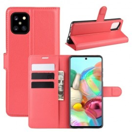 Book Case Samsung Galaxy Note 10 Lite Hoesje - Rood