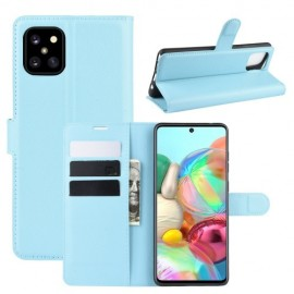 Book Case Samsung Galaxy Note 10 Lite Hoesje - Lichtblauw