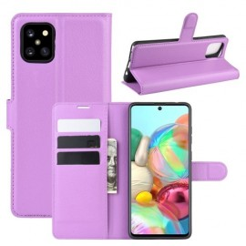 Book Case Samsung Galaxy Note 10 Lite Hoesje - Paars