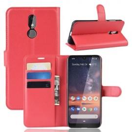 Book Case Nokia 3.2 Hoesje - Rood