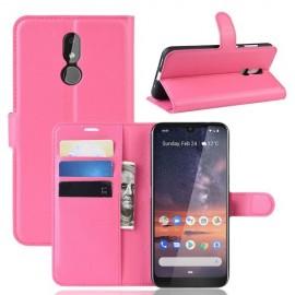 Book Case Nokia 3.2 Hoesje - Roze