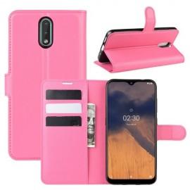 Book Case Nokia 2.3 Hoesje - Roze