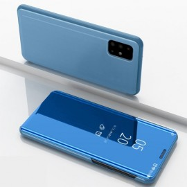 Mirror View Case Samsung Galaxy A51 Hoesje - Blauw