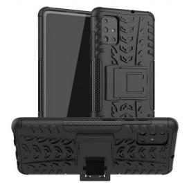 Rugged Kickstand Samsung Galaxy A51 Hoesje - Zwart