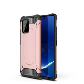 Armor Hybrid Samsung Galaxy S10 Lite Hoesje - Rose Gold