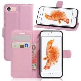 Book Case iPhone SE (2020) / 8 / 7 Hoesje - Pink