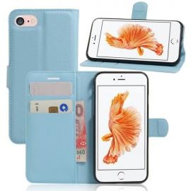Book Case iPhone SE (2020) / 8 / 7 Hoesje - Lichtblauw