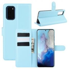 Book Case Samsung Galaxy S20 Hoesje - Lichtblauw