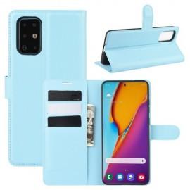 Book Case Samsung Galaxy S20 Plus Hoesje - Lichtblauw