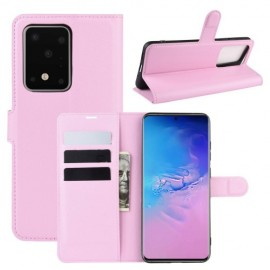 Book Case Samsung Galaxy S20 Ultra Hoesje - Pink