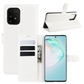 Book Case Samsung Galaxy S10 Lite Hoesje - Wit