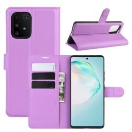 Book Case Samsung Galaxy S10 Lite Hoesje - Lila