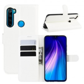 Book Case Xiaomi Redmi Note 8T Hoesje - Wit