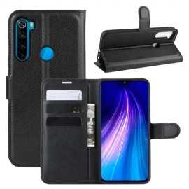 Book Case Xiaomi Redmi Note 8T Hoesje - Zwart