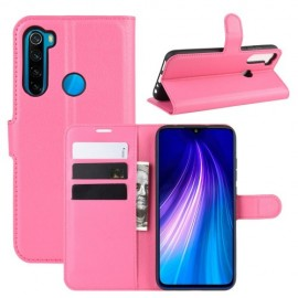 Book Case Xiaomi Redmi Note 8T Hoesje - Roze