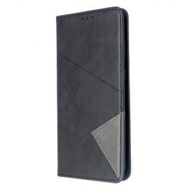 Geometric Book Case Samsung Galaxy S20 Plus Hoesje - Zwart