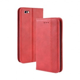 Vintage Book Case iPhone 6s / 6 Hoesje - Rood