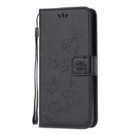 Vlinder Book Case Samsung Galaxy S20 Ultra Hoesje - Zwart