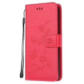 Vlinder Book Case Samsung Galaxy S20 Plus Hoesje - Rood