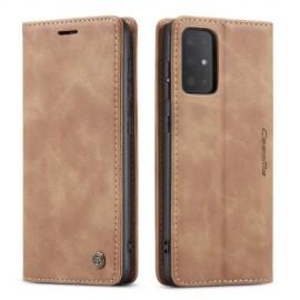 CaseMe Book Case Samsung Galaxy S20 Hoesje - Bruin
