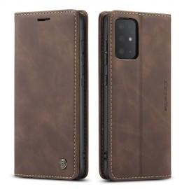 CaseMe Book Case Samsung Galaxy S20 Ultra Hoesje - Donkerbruin