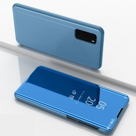 Mirror View Case Samsung Galaxy S20 Hoesje - Blauw