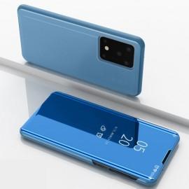 Mirror View Case Samsung Galaxy S20 Ultra Hoesje - Blauw