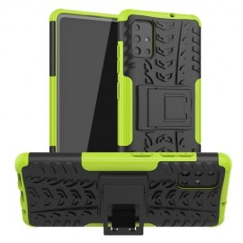 Rugged Kickstand Samsung Galaxy A51 Hoesje - Groen