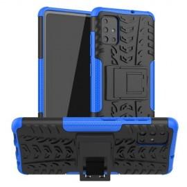 Rugged Kickstand Samsung Galaxy A51 Hoesje - Blauw