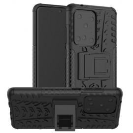 Rugged Kickstand Samsung Galaxy S20 Ultra Hoesje - Zwart