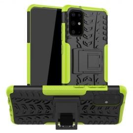 Rugged Kickstand Samsung Galaxy S20 Plus Hoesje - Groen
